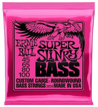 Ernie Ball Super Slinky Nickel Round Wound Bass Set