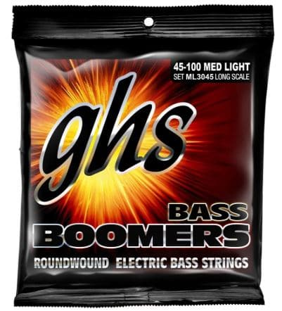 GHS Strings Electric Bass Boomer Set