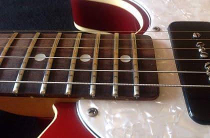 Jumbo Fret In Telecaster Guitar