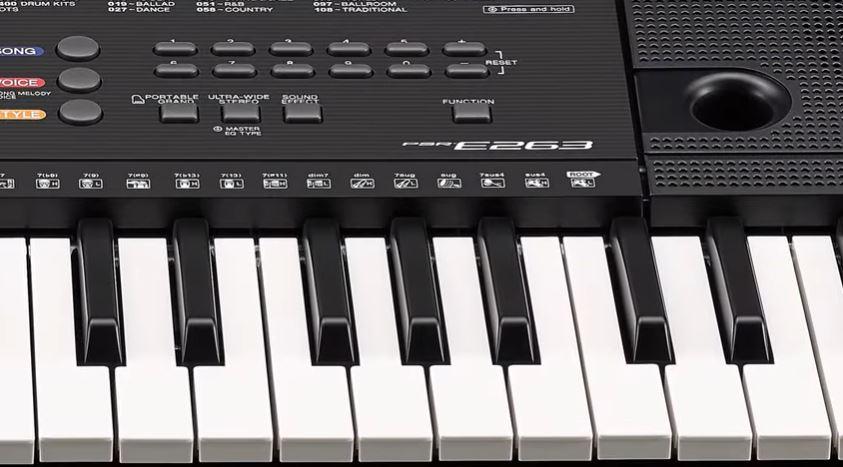 Keys of PSR E263
