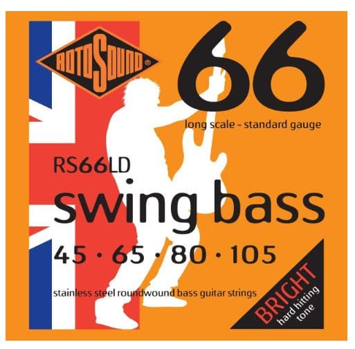 Rotosound RS66LD Perfect For Fender Jazz String