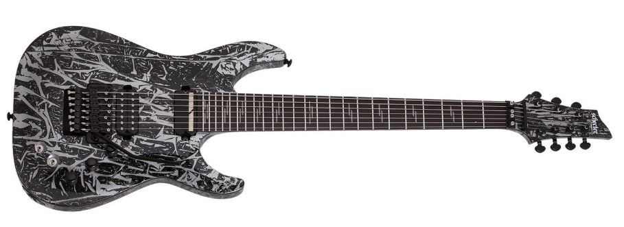 The Silver Mountain Body Color of C7 Electric Guitar