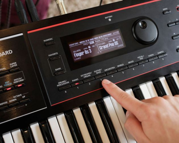 On-Board sounds of Juno DS Series