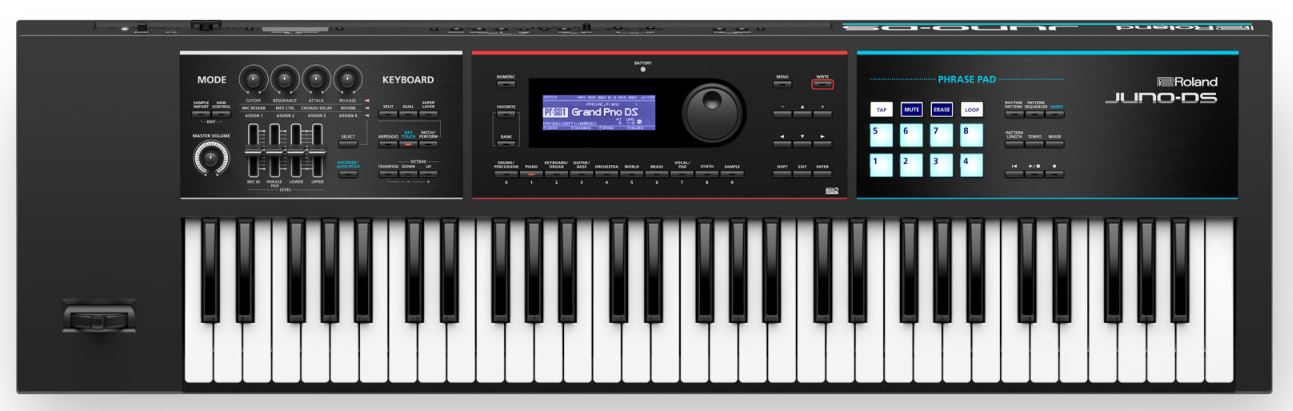 Roland Juno DS 61 Review - The Proffesional Lightweight Synth-Action Keyboard