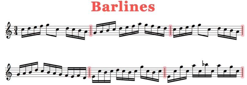 Barlines