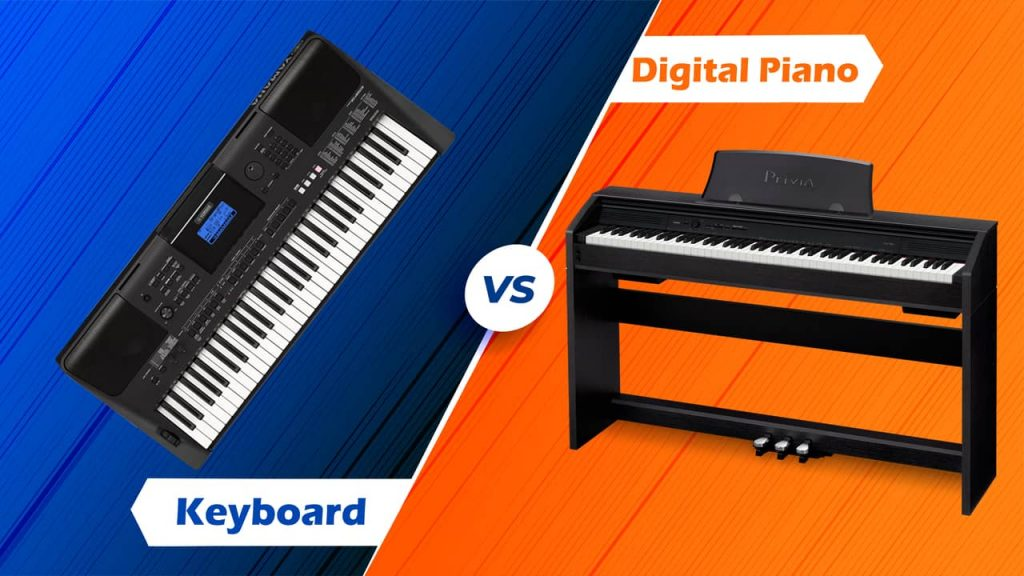 Digital Piano Vs Keyboards - Differences