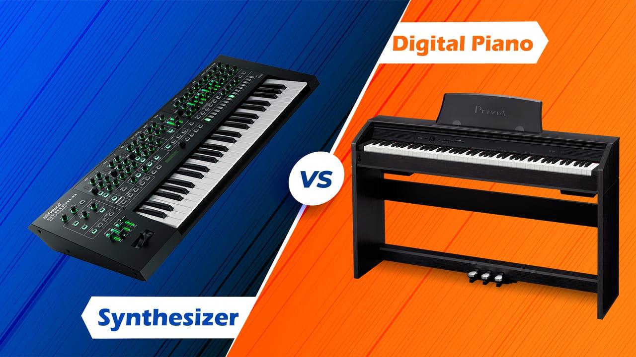 Digital Piano Vs Synthesizer