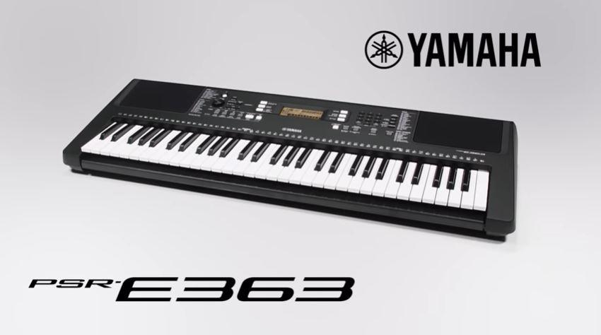 Yamaha PSR E363 Review - 61 Key Keyboard