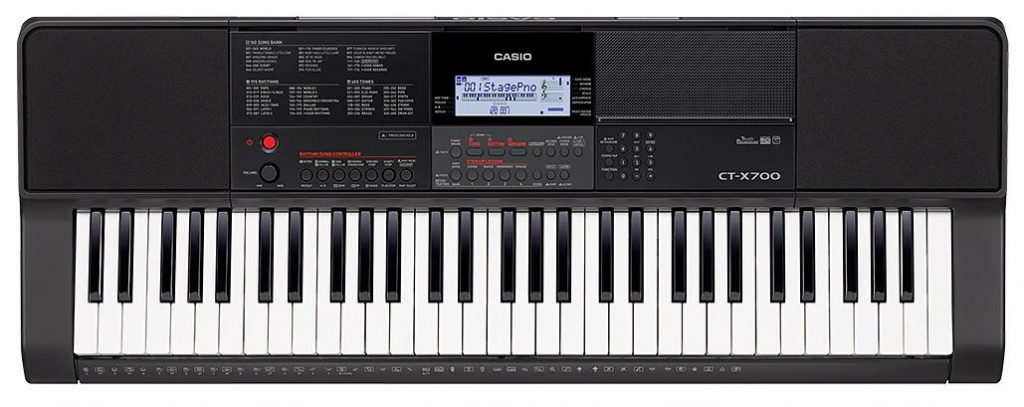 Casio ct-x700 review