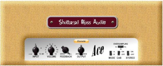 Shattered Glass Audio Ace VST Plugin for DAW