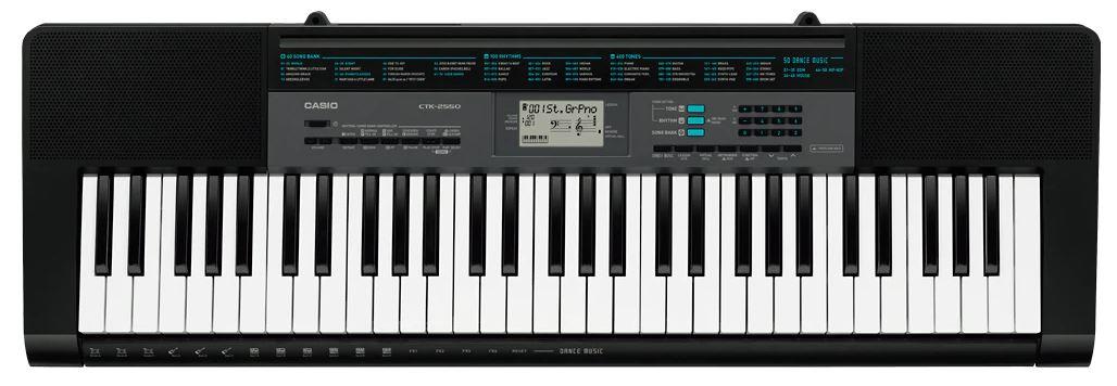 Casio CTK 2550 61 Keys Beginner Keyboard