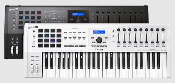 MIDI Controller Keyboard - Hybrid Synths